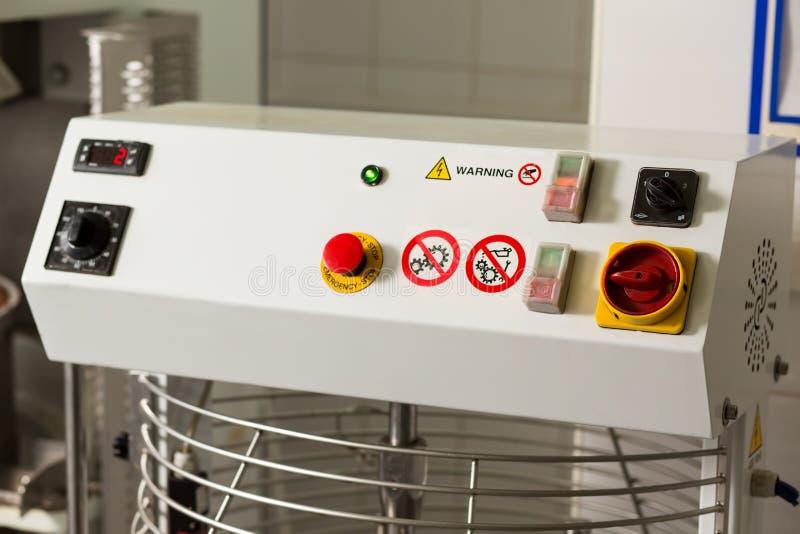 Painel com botões e interruptores foto de stock royalty free