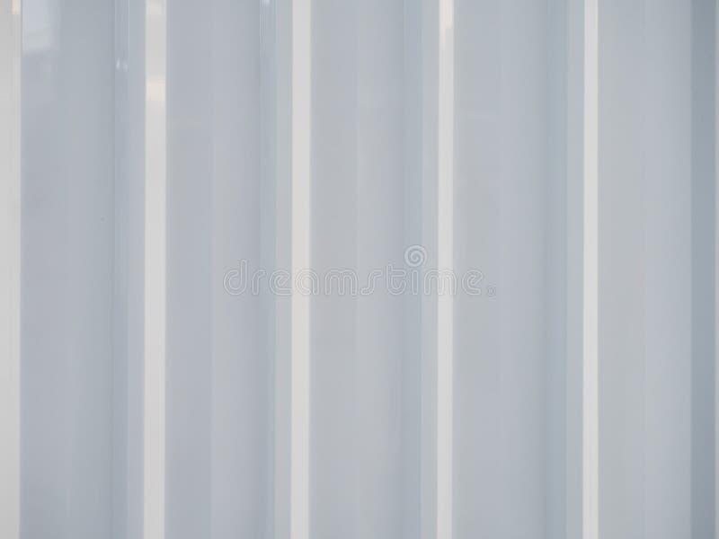 Painel da folha de metal branco imagem de stock royalty free