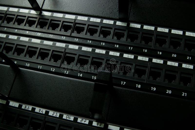 Painel da rede de comunicação foto de stock royalty free