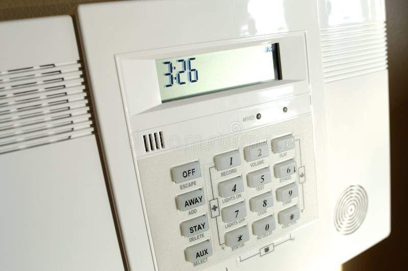 Painel de alarme Home