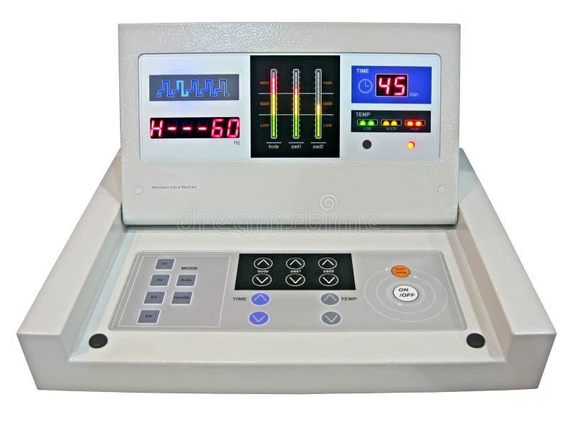 Painel de controle digital novo, teste da medicina da dieta imagem de stock