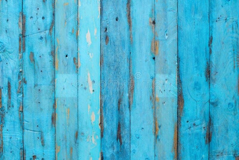 Painel de madeira azul imagens de stock