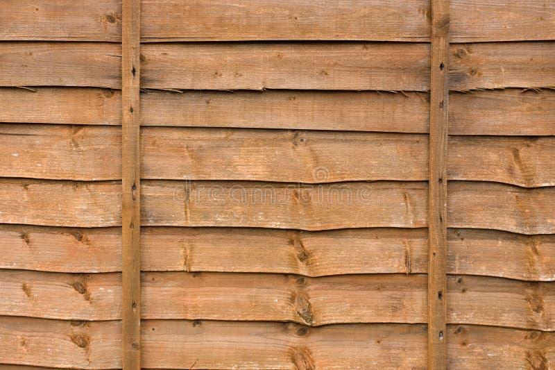 Painel de madeira da cerca foto de stock