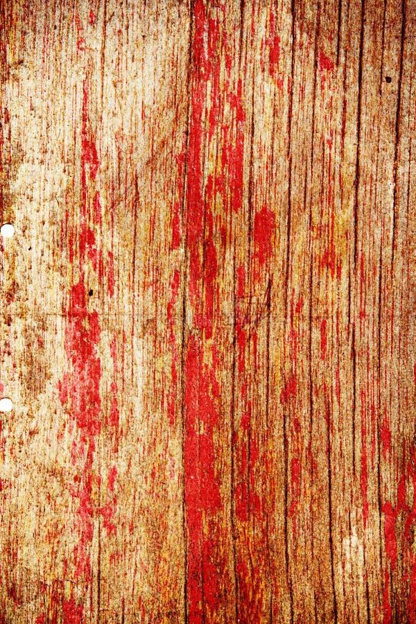 Painel de madeira vermelho brilhante fotos de stock royalty free