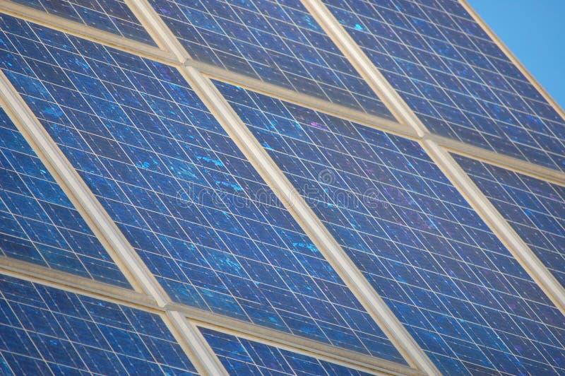Painel de potência solar foto de stock royalty free
