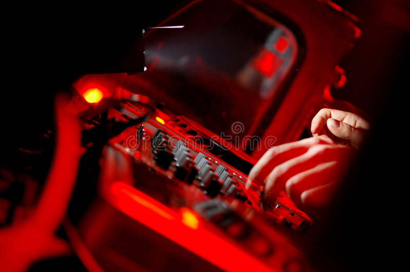 Painel do DJ imagens de stock royalty free