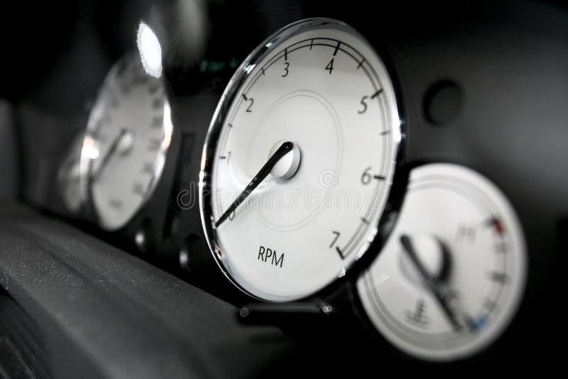 Painel dos carros imagens de stock royalty free