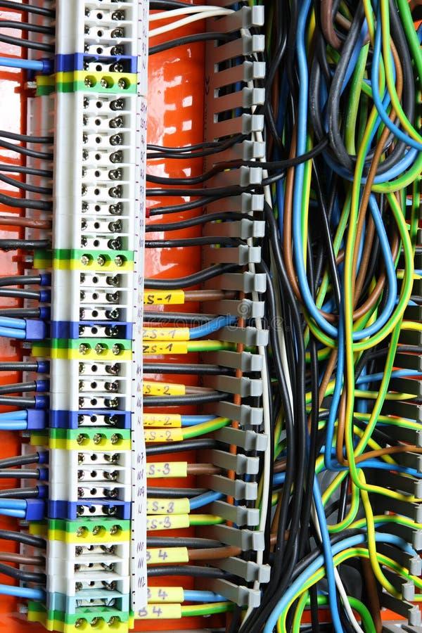 Download Painel elétrico imagem de stock. Imagem de eletricidade - 12801203