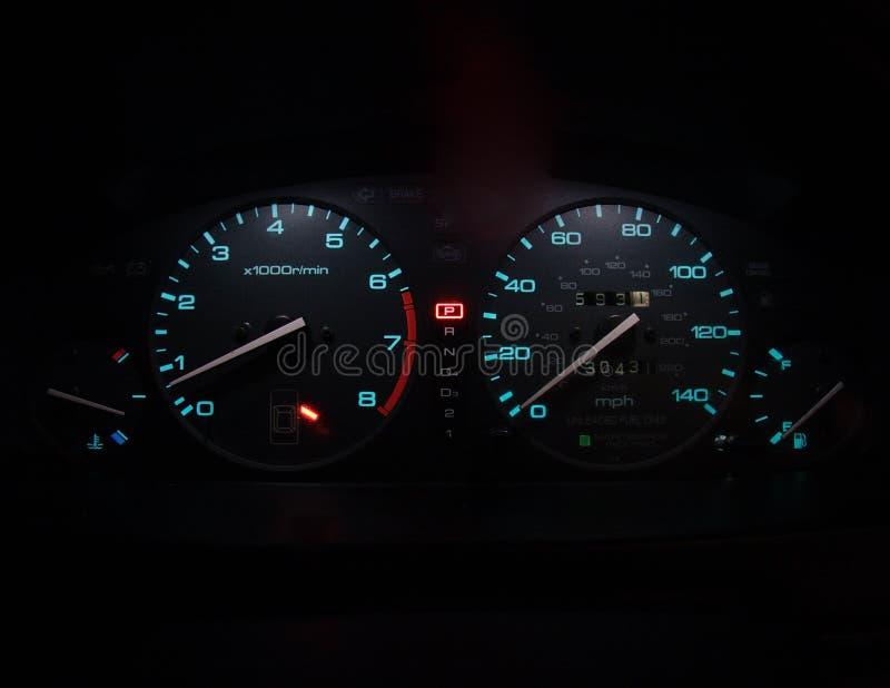 Download Painel moderno do carro imagem de stock. Imagem de steering - 61571