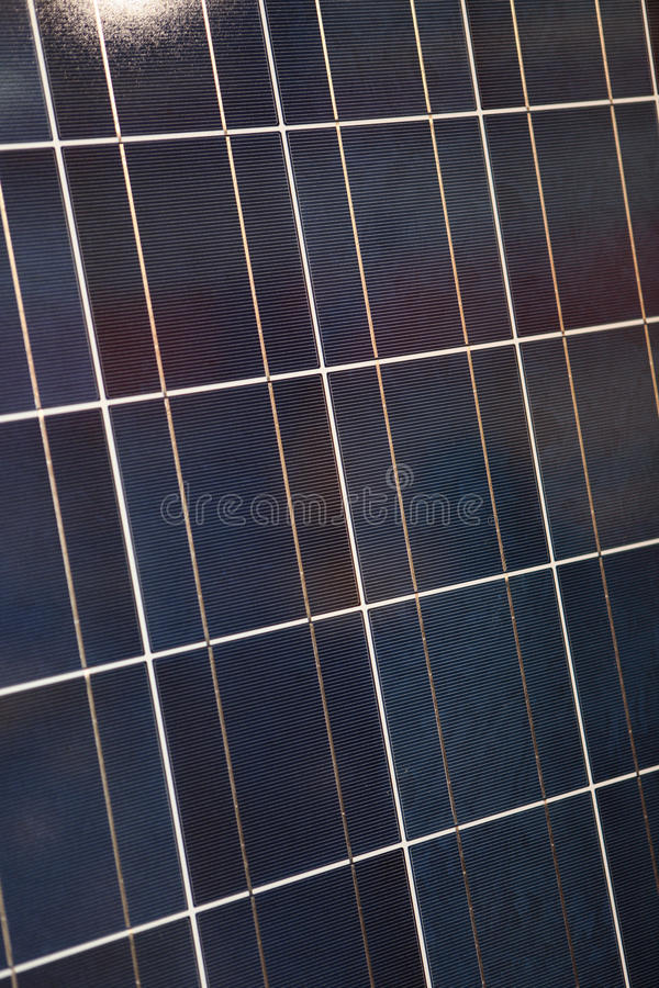 Painel Photovoltaic imagens de stock royalty free