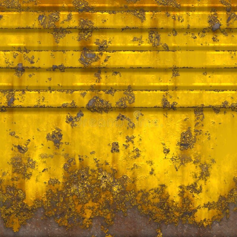 Painel sem emenda oxidado ilustração stock