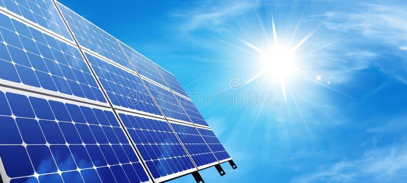 Painel solar ilustração do vetor