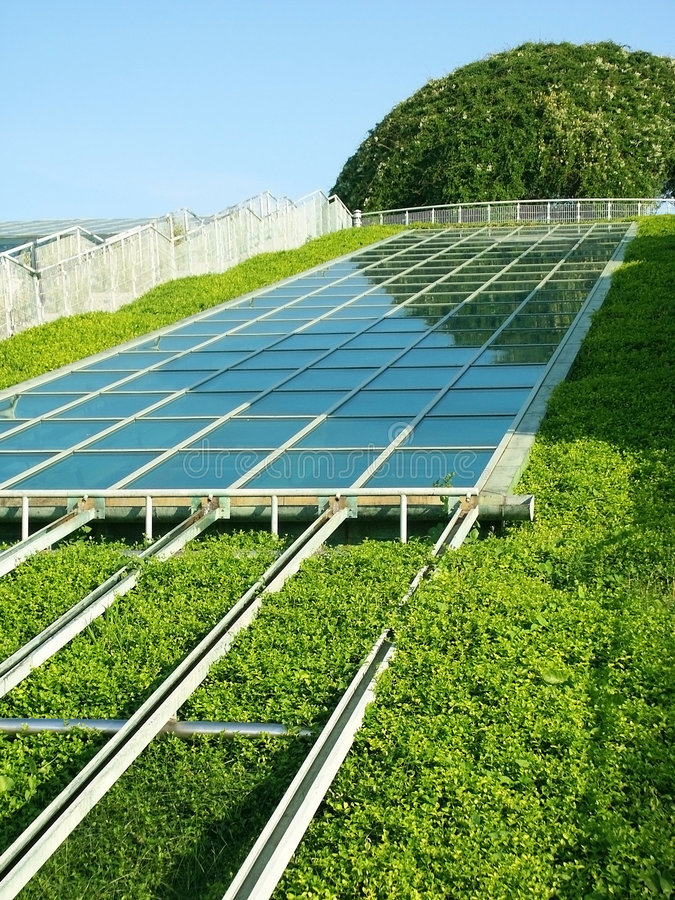 Painel solar. imagens de stock royalty free