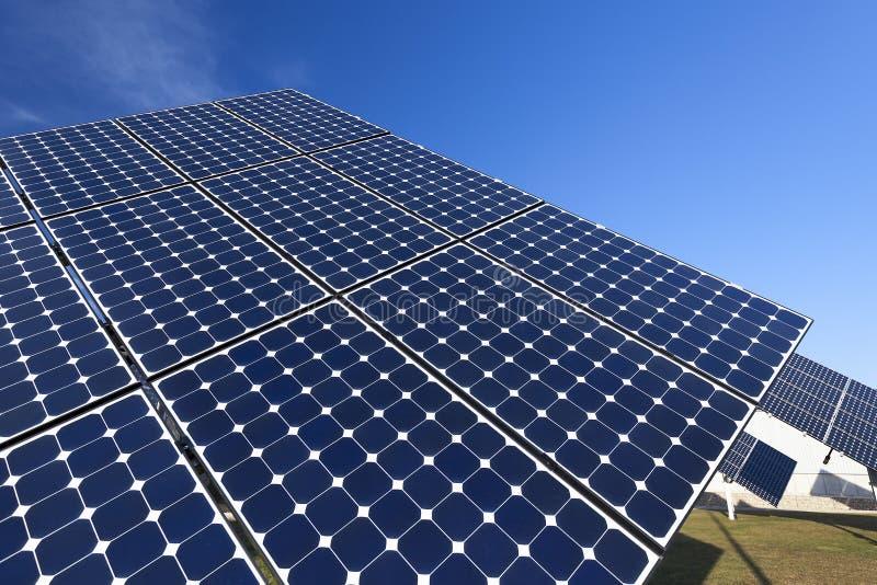 Painel solar azul foto de stock royalty free