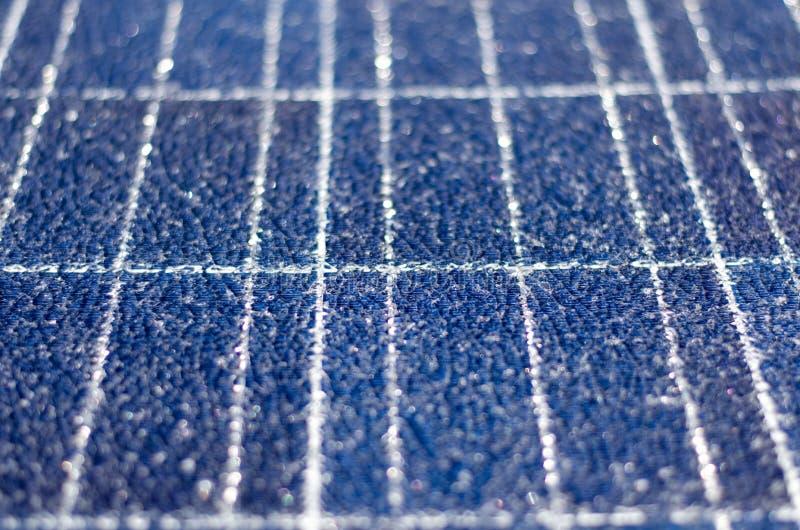 Painel solar quebrado foto de stock royalty free