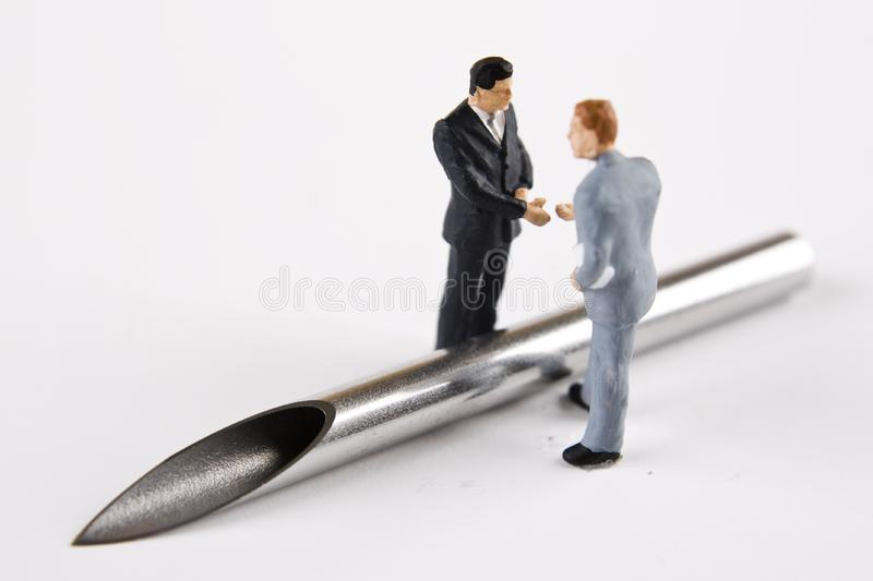 Download Painful Business Agreement stock photo. Image of bore - 7960564