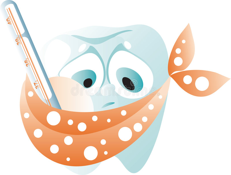 Download Painful tooth stock vector. Illustration of illness, caries - 7807270