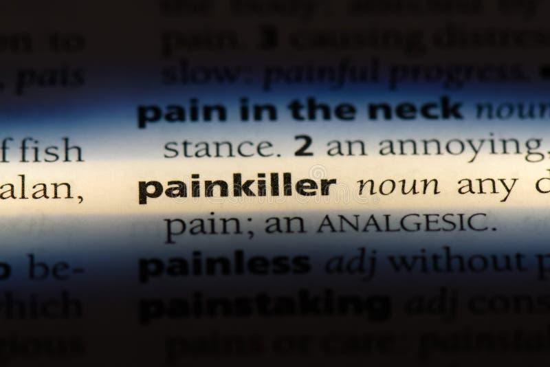 painkiller imagens de stock