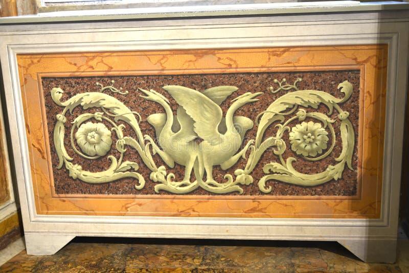 Painnting στο Galleria Borghese Ρώμη Ιταλία στοκ εικόνες