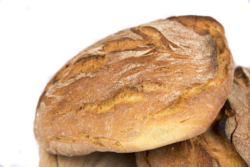 Pains de pain fraîchement cuit au four photos stock