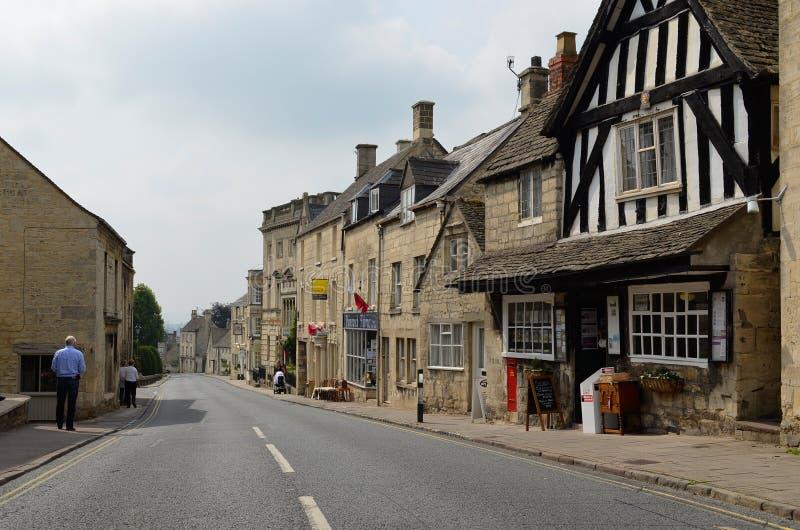 Painswick, городок Cotswolds стоковое изображение rf