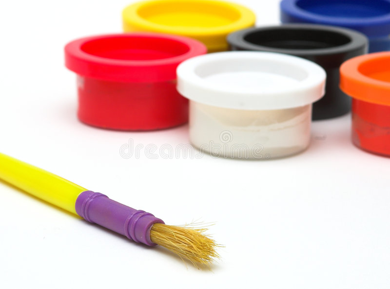 Download Paint stock image. Image of black, poster, creative, tools - 1417157