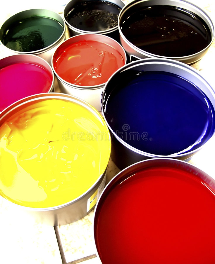 Paint stock images