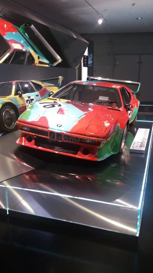 Paint BMW. At tze BMW Museum München stock images