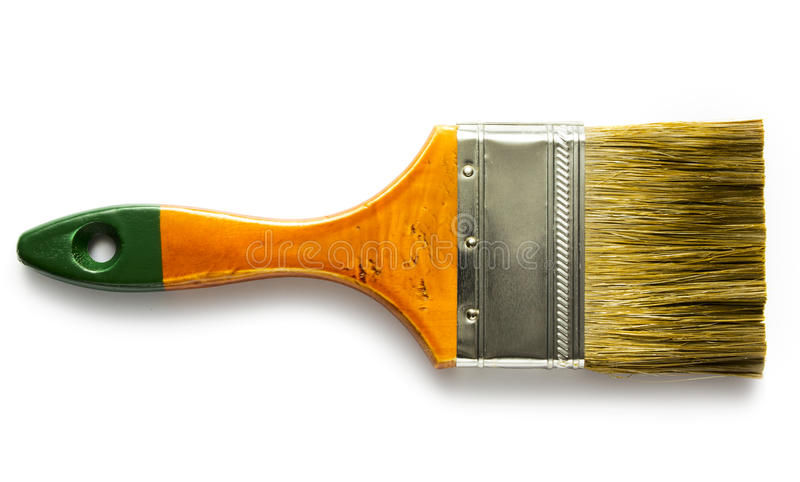 Paint borstar royaltyfria foton