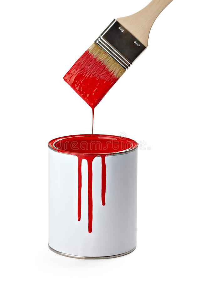 Download Paint and brush stock photo. Image of leak, color, flow - 19413048