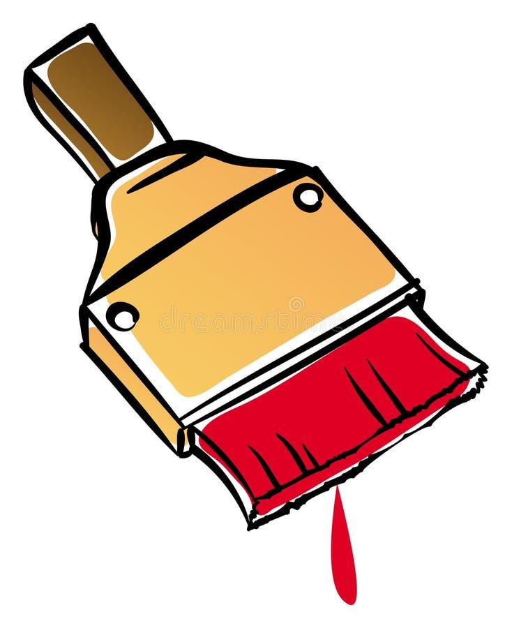 Download Paint brush stock vector. Image of brush, cartoon, painting - 20699929