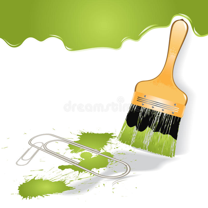 Download Paint Brush Royalty Free Stock Images - Image: 25808109