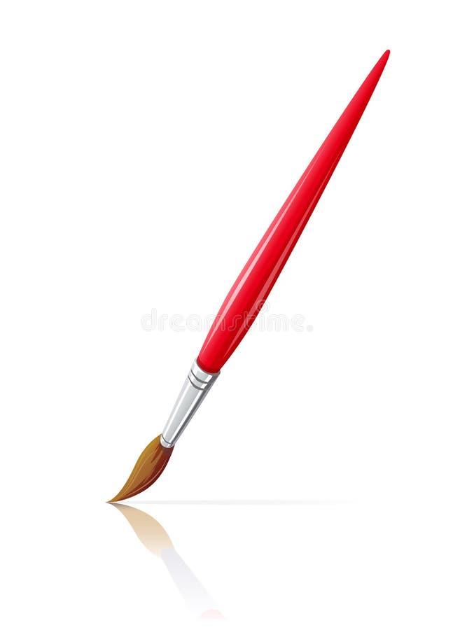 Paint brush. stock illustration