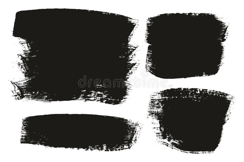 Paint Brush Medium Background Mix High Detail Abstract Vector Background Set 154. This image is a vector illustration and can be scaled to any size without loss vector illustration