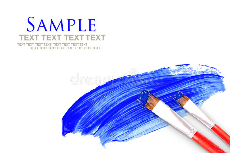 Download Paint brush and paint stock photo. Image of paint, stain - 23456002