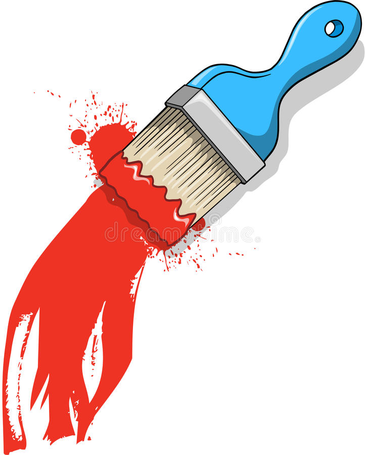 Download Paint Brush Vector Illustration Stock Vector - Image: 9800742