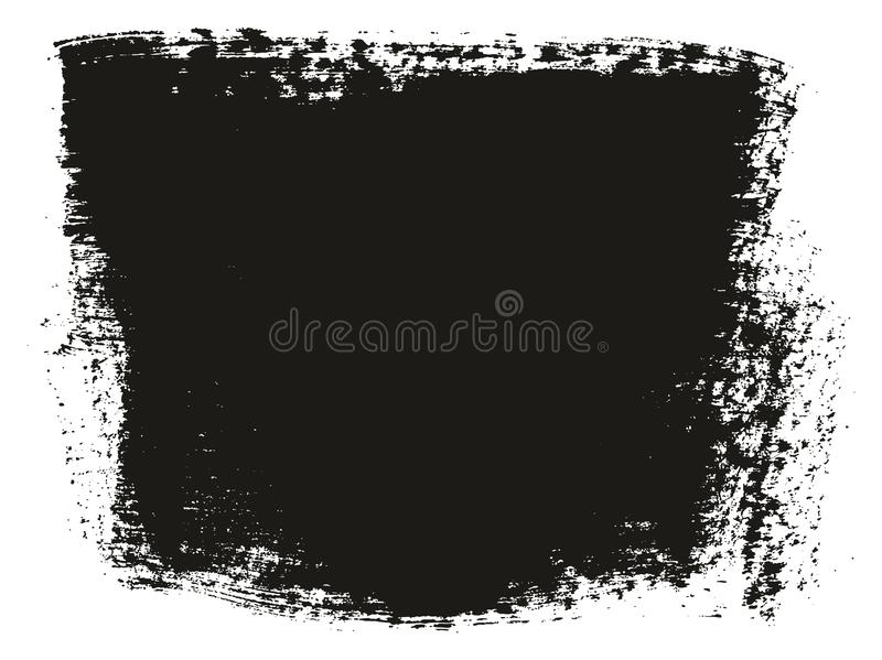 Paint Brush Wide Background High Detail Abstract Vector Background Set 62. This image is a vector illustration and can be scaled to any size without loss of royalty free illustration