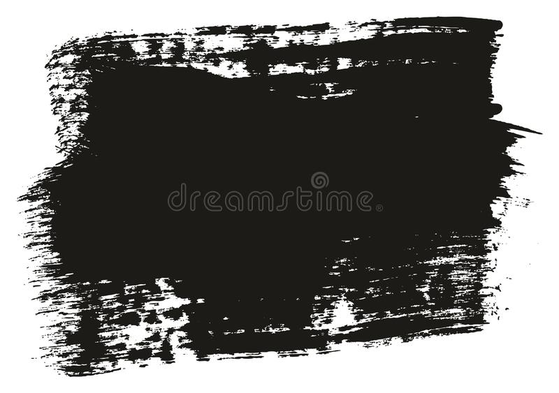 Paint Brush Wide Background High Detail Abstract Vector Background Set 48. This image is a vector illustration and can be scaled to any size without loss of stock illustration