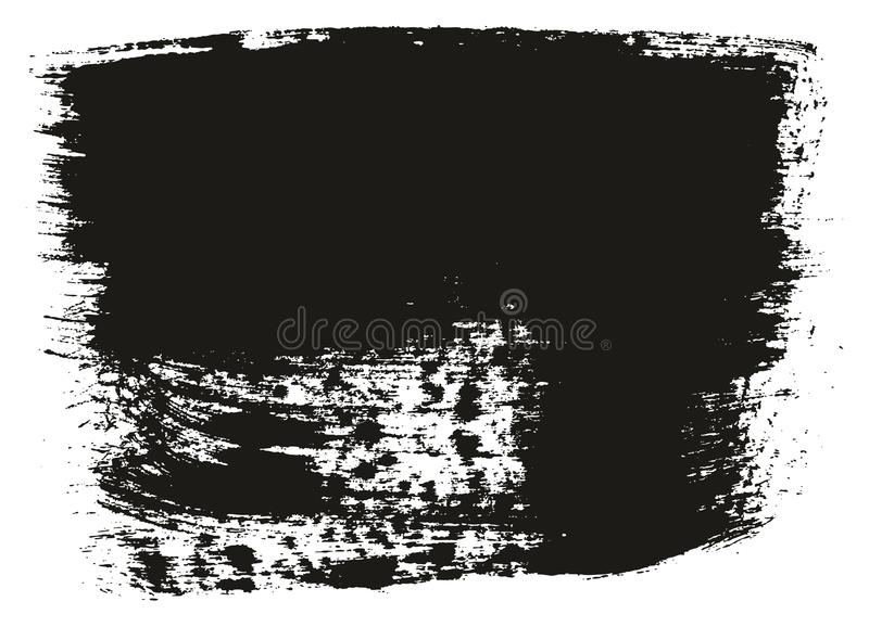 Paint Brush Wide Background High Detail Abstract Vector Background Set 45. This image is a vector illustration and can be scaled to any size without loss of stock illustration