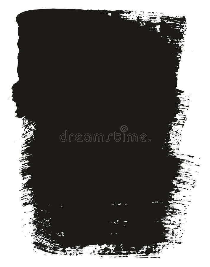 Paint Brush Wide Background High Detail Abstract Vector Background Set 15. This image is a vector illustration and can be scaled to any size without loss of vector illustration