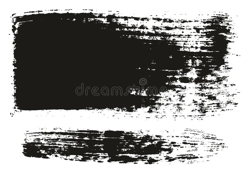 Paint Brush Wide Lines High Detail Abstract Vector Background Set 74. This image is a vector illustration and can be scaled to any size without loss of royalty free illustration