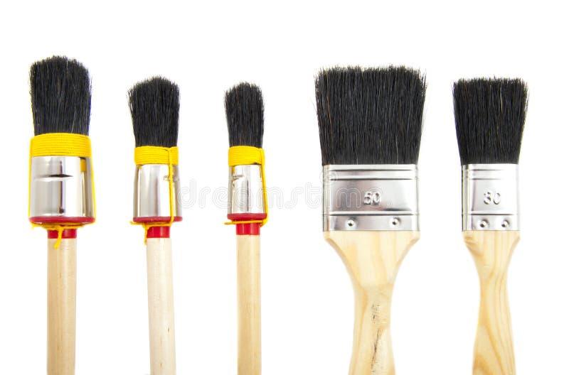 Download Paint brushes stock image. Image of paintbrush, handle - 20052603