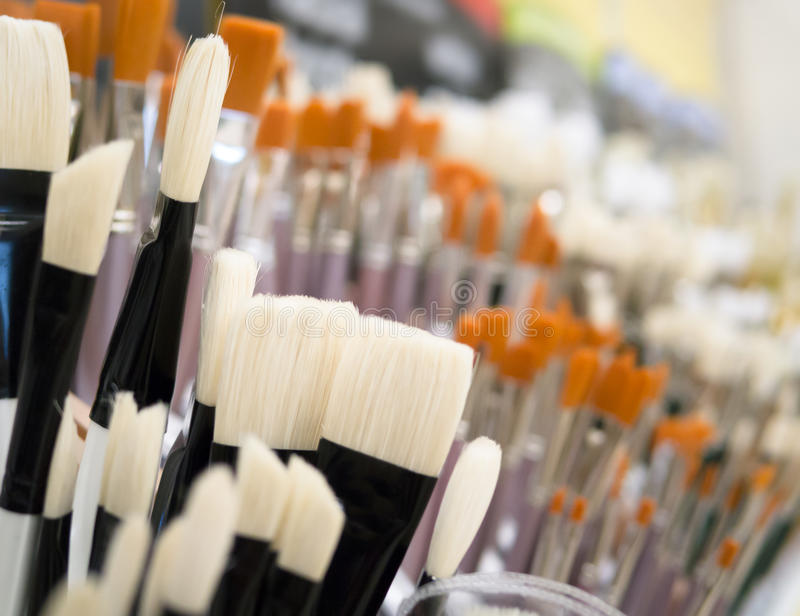 Paint Brushes Stock Image