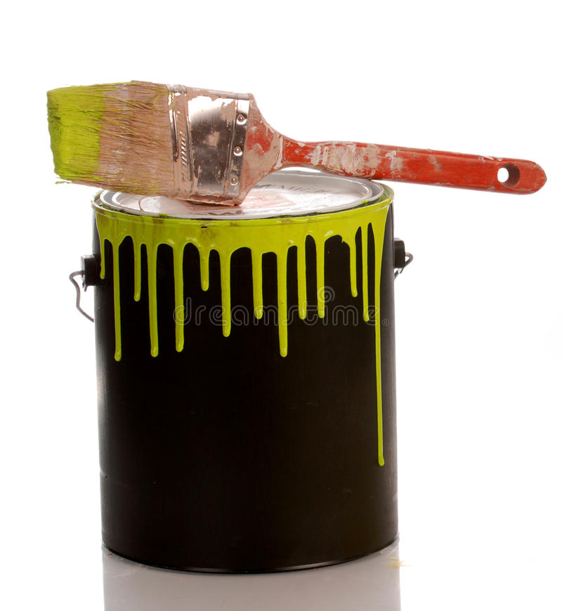 Free Paint Can Royalty Free Stock Image - 10501486