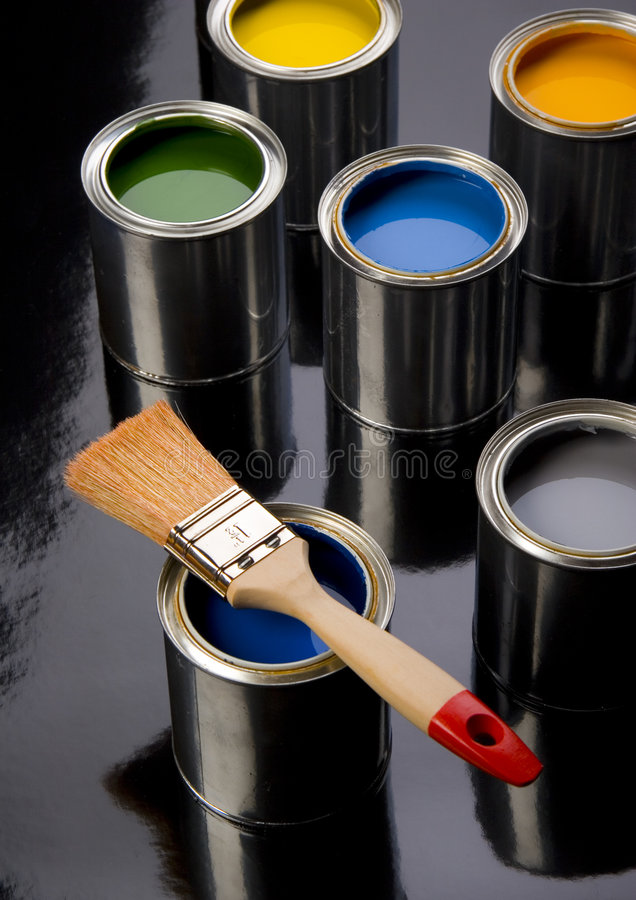 Download PAINT CAN Stock Photo - Image: 2320970