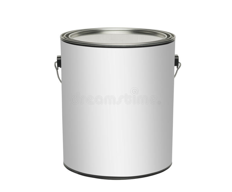 Download Paint Can, Isolated On White Stock Photo - Image: 39256446