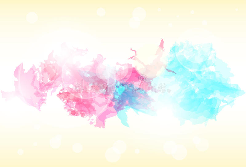 Paint colorful splash abstract background. Vector stock illustration