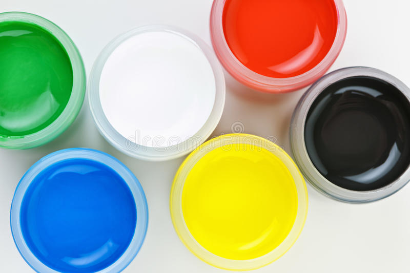 Download Paint of different colors stock image. Image of craft - 23506585