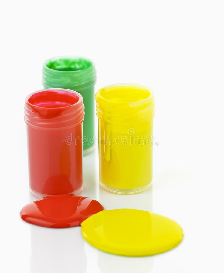 Download Paint Of Different Colors Spilled Stock Photo - Image: 23718790