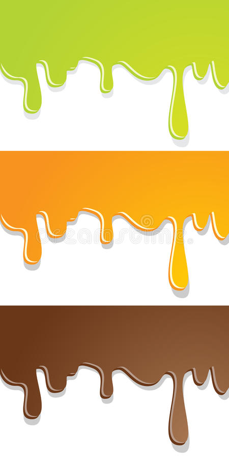 Paint Dripping Stock Image